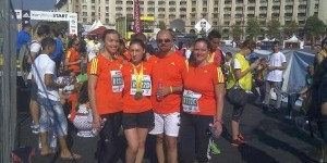 RBRO_ Voluntar Maria Duduman_Maraton Bucuresti_2012